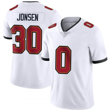Youth Nike Tampa Bay Buccaneers Travis Jonsen White Vapor Untouchable Jersey - Limited