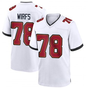 Youth Nike Tampa Bay Buccaneers Tristan Wirfs White Jersey - Game