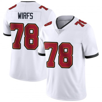 Youth Nike Tampa Bay Buccaneers Tristan Wirfs White Vapor Untouchable Jersey - Limited