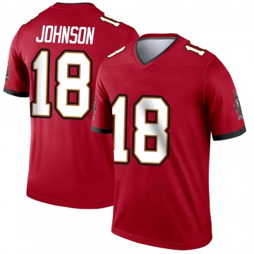Youth Nike Tampa Bay Buccaneers Tyler Johnson Red Jersey - Legend