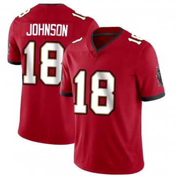 Youth Nike Tampa Bay Buccaneers Tyler Johnson Red Team Color Vapor Untouchable Jersey - Limited