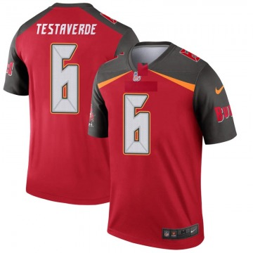 Youth Nike Tampa Bay Buccaneers Vincent Testaverde Red 6 Jersey - Legend