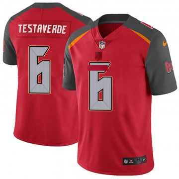 Youth Nike Tampa Bay Buccaneers Vincent Testaverde Red 6 Team Color Vapor Untouchable Jersey - Limited