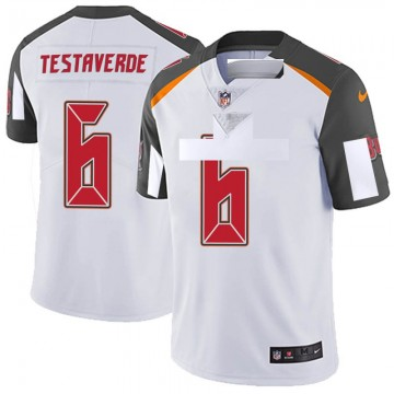 Youth Nike Tampa Bay Buccaneers Vincent Testaverde White 6 Vapor Untouchable Jersey - Limited