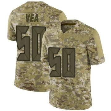 Youth Nike Tampa Bay Buccaneers Vita Vea Camo 2018 Salute to Service Jersey - Limited