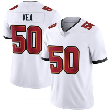 Youth Nike Tampa Bay Buccaneers Vita Vea White Vapor Untouchable Jersey - Limited