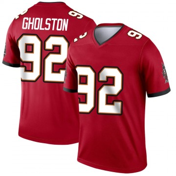 Youth Nike Tampa Bay Buccaneers William Gholston Red Jersey - Legend