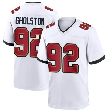 Youth Nike Tampa Bay Buccaneers William Gholston White Jersey - Game