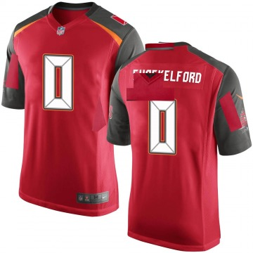 Youth Nike Tampa Bay Buccaneers Zach Shackelford Red Team Color Jersey - Game