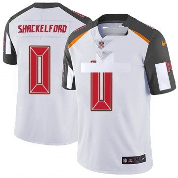 Youth Nike Tampa Bay Buccaneers Zach Shackelford White Vapor Untouchable Jersey - Limited